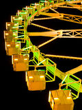 Ferris Wheel At Night Stock Images