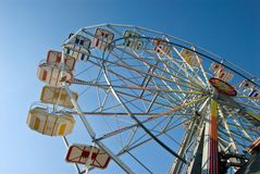 Free Ferris Wheel At The New Jersey Shore Stock Photography - 118068662