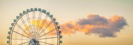 Ferris Wheel av Malaga Royaltyfri Fotografi