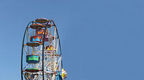 Ferris wheel background Royalty Free Stock Photo