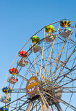 Ferris wheel background sky. Stock Photography