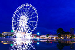 Ferris wheel in Bangkok Royalty Free Stock Images