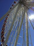 Ferris Wheel. From base of ferris wheel, Chicago Royalty Free Stock Images