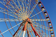 Ferris wheel of Batumi city, Georgia Stock Photo
