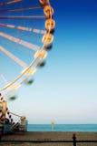 Ferris wheel at the beach Stock Image