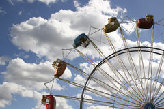 Ferris Wheel With Beautiful Sky Royalty Free Stock Image