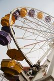 Ferris Wheel from Below Stock Image