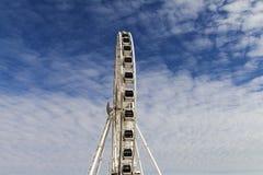 Ferris wheel. Big ferris wheel at Brighton, England Stock Photography