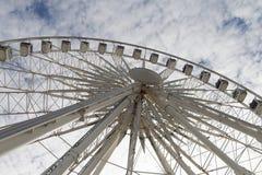 Ferris wheel. Big ferris wheel at Brighton, England Stock Photos