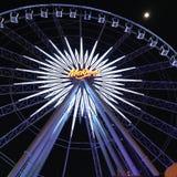 Ferris wheel. Big Ferris wheel during the night Stock Images