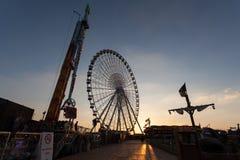 Ferris Wheel bij het Globale Dorp van Doubai Royalty-vrije Stock Afbeelding