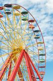 Ferris wheel with blue sky Stock Photos