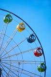 Ferris wheel on blue sky Stock Image