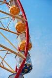 Ferris wheel on the blue sky Stock Photo