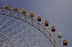 Ferris Wheel. On blue sky Royalty Free Stock Photography