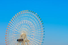 .Ferris Wheel with Blue Sky. Ferris Wheel with Blue Sky Royalty Free Stock Images