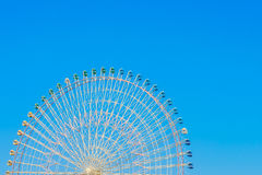 Ferris Wheel with Blue Sky . Ferris Wheel with Blue Sky Royalty Free Stock Photography