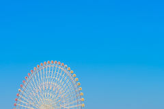 .Ferris Wheel with Blue Sky. Ferris Wheel with Blue Sky Royalty Free Stock Photography