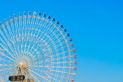 ..Ferris Wheel with Blue Sky. Ferris Wheel with Blue Sky Stock Images