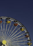 Ferris Wheel and Blue Sky Stock Photo