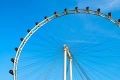 Ferris wheel on blue sky Royalty Free Stock Image