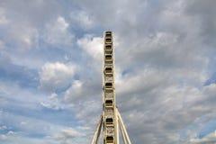 Ferris wheel and blue sky Stock Image