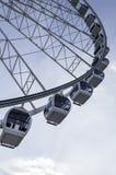 Ferris Wheel on Blue Sky Stock Photos