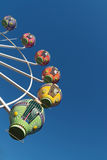 Ferris wheel with blue sky Stock Photo