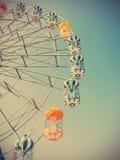 Ferris Wheel on Blue Sky Royalty Free Stock Photography