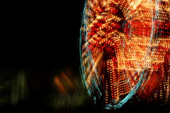 Ferris Wheel Blur Stock Image