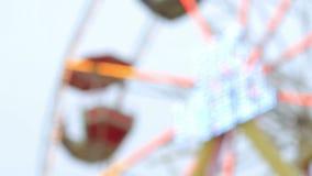 Ferris Wheel Blur Background metrajes