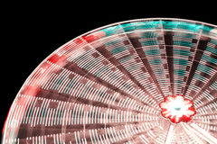 Ferris wheel blurred abstract background. Royalty Free Stock Photos