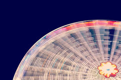 Ferris wheel blurred abstract background. Royalty Free Stock Photo