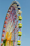 Ferris wheel. Booths with blue sky in japan Royalty Free Stock Photography