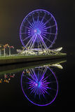 Ferris wheel on the Boulevard in Baku Stock Images