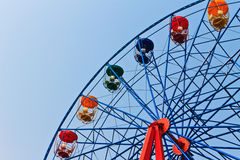 Ferris wheel on a bright sunny day Royalty Free Stock Images