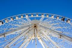 Ferris Wheel in Brighton on the blue sky Stock Image