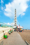 Ferris wheel in Brighton Stock Photo