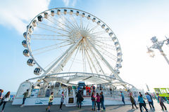 Ferris wheel in Brighton Stock Photography