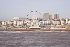 Ferris wheel in Brighton royalty free stock photography