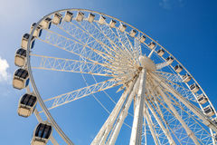Ferris wheel. The Brighton Wheel on the seafront. Brighton, East Sussex, England Royalty Free Stock Images
