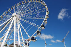 Ferris wheel in the Brisbane Stock Images
