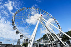 Ferris wheel of Brisbane Stock Photos