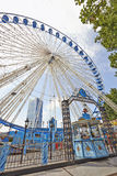 Ferris wheel in Brussels Stock Images