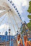 Ferris wheel in Brussels Stock Images