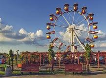 Ferris Wheel, Bucarest, Rumania Fotografía de archivo