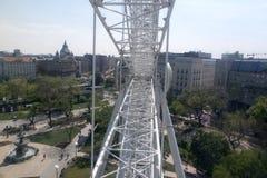 Ferris wheel Budapest Stock Images