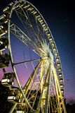 Ferris wheel Budapest royalty free stock photography