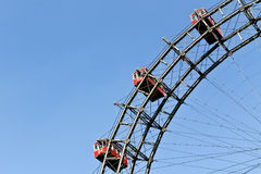 Ferris wheel cabins Royalty Free Stock Images