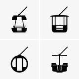 Ferris wheel cabins Stock Photo
